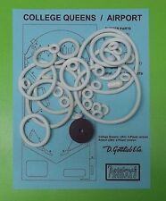 1969 Gottlieb College Queens / Airport pinball rubber ring kit