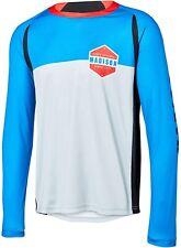Madison Alpine Long Sleeve Mens Cycling Jersey - Blue