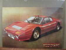 Vintage 1983 Ferrari poster man cave car garage  3670