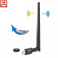Dual Band High-Gain Antenna 802.11ac 1200Mbps USB3.0 AC1200 USB wifi Adapter USA