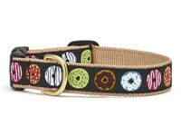 Up Country - Dog Puppy Design Collar - Made In USA - Donuts - XS S M L XL XXL