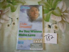 """a941981 Leslie Cheung 張國榮 Made in Japan 3"""" CD EP I Like Dreaming + Do You Wanna Make Love 4-track Limited Editon No. 782"""