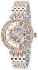 NEW Invicta 32296 Objet D Art 37MM Mechanical Dial Automatic SS Bracelet Watch