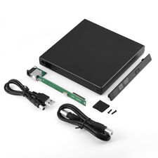 12.7MM USB 2.0 SATA Optical Drive Case External Enclosure Caddy For Laptop PC