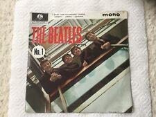 "The Beatles No 1 EP 7"" Vinyl Record 45 RPM"