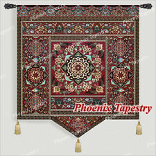 """Moroccan Style III Fine Art Tapestry Wall Hanging, Cotton 100%, 55""""x67"""", UK"""