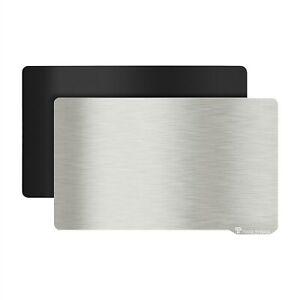 Resin Magnetic Flexible Steel Plate Flexible Bed SLA 3D Printer 196 x 126mm