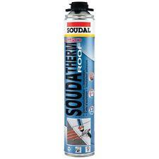 Polyurethan Kleber / Dichtstoff für Styropor / Polystyrol Soudal Soudatherm Roof