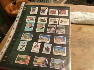 Gibraltar. Unmounted Mint Stamps Lot