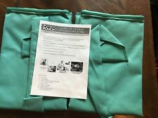 2 Pack Purrfect Pouch Comfy Cat Carrier Sack As Seen on Tv Aqua New (other)
