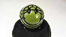 ARMY green - David Flores SMILE Ball S.M.I.L.E. - sofubi figure smiley face