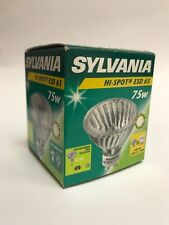 0SYLVANIA Halogen Lamp Hi-Spot ES63 230V 75W GU10 25° Warm White Dimmable Lamp