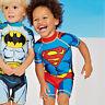 maillot de bain garçon-anti uv-héros-filtre uv-maillot garcon-plage-mer-été