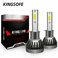 2 Ampoule H11 LED Phare Voiture 6000K 12000LM Feux Remplacement HID Xénon Lampe