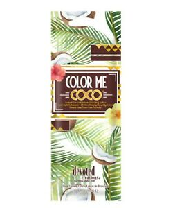 Devoted Creations Color Me Coco Instant Coconut Infused Bronzer Sample Packet