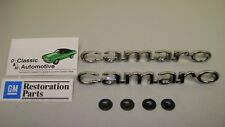 Camaro Fender Emblems Pair 67 Camaro **In Stock*  *GM Resto Parts*