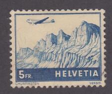 Switzerland 1941 # C34 Air Post Stamp (5 Fr) - Used