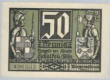 Notgeld - Stadt Schalkau - 50 Pfennig - 1921 - Motiv 6: Ruine