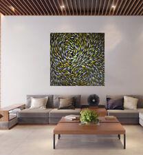 "28"" x28"" Canvas Print original art painting Dreaming Fish Australia aboriginal"