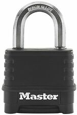Master Lock Excell high security anti-rust outdoor padlock with combination l...
