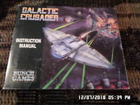 Galactic Crusader (NES Nintendo) Instruction Manual Booklet Only... NO GAME