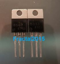 1 paire 2SB507 2SD313 (B507 D313) TRANSISTOR TO-220