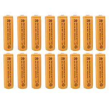 16 x AA 2A 3000 (Actual 300mAh) 1.2V Ni-MH NiMH Rechargeable Battery Cell Orange