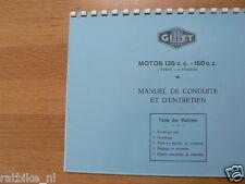 G0403 GILLET HERSTAL---MANUEL DE CONDUITE ET D'ENTRETIEN---MOTOS 125cc + 150cc 2
