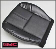 2011 GMC Sierra 1500 HD SLT Z71 4X4 Driver Side Bottom Leather Seat Cover Black