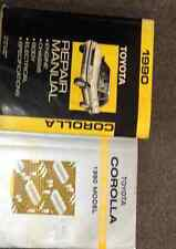 1990 Toyota COROLLA Service Repair Shop Manual Set W ELECTRICAL WIRING DIAGRAM
