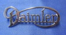 """DAIMLER CHROME BOOT BADGE """"DAIMLER"""" FITS V8 BD24520"""