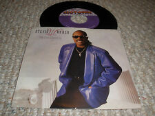 "Stevie Wonder Color Photo Picture Sleeve P/S 7"" Record MY EYES DON'T CRY L@@K"