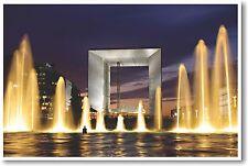 Grande Arche de la Fraternité - Paris - NEW World Travel POSTER