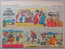 Lone Ranger Sunday Page by Fran Striker and Charles Flanders from 6/21/1942