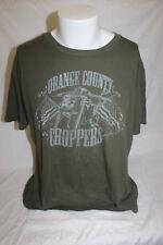 Orange County Choppers Men's Green T Shirt Size XL