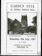 BEATLES / THE QUARRYMEN St Peter's Church, Woolton - Fete Programme 1957 Reprint