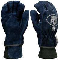 Shelby 5227 Xl Firefighters Gloves,Xl,Cowhide Lthr,Pr
