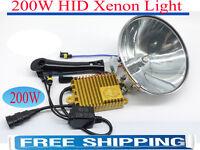 200W HID Xenon HandHeld 18CM Spotlight Driving Lights Hunting Camping Lamp Force
