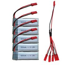 U818A 500mAh 3.7V Battery(5PCS) with 1 to 5 Cable