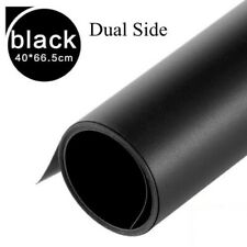 Black Dual Side PVC Backdrop Matt Reflective Washable Photography Background wei