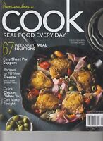 Premiere Issue Cook Real Food Every Day Vol 1, Iss 1 2017