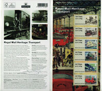 RARE SIGNED BY ILLUSTRATOR  ROYAL MAIL HERITAGE PRESENTATION PACK Post Go
