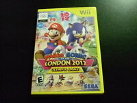 Replacement Case (NO GAME) MARIO & SONIC LONDON 2012 OLYMPIC GAMES NINTENDO WII