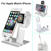 Aluminum Charging Dock Station Holder Stand For iWatch iPhone Apple Watch New