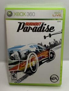 Burnout Paradise  Microsoft Xbox 360  2008  Complete