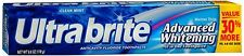 Ultra brite Advanced Whitening Toothpaste Clean Mint 6 oz (Pack of 7)