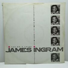 "James Ingram – Yah Mo B There Jellybean Remix 12"" Vinyl  Funk Soul Boogie Music"