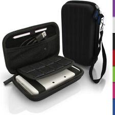 Maletas, fundas y bolsas fundas negros de aluminio para consolas y videojuegos