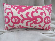 Gorgeous Zaab Homewares Jules Fuschia Pink Natural Cushion Cover 30cm x 50cm