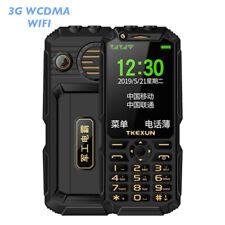 "Unlocked TKEXUN Q8 Analog TV Power Bank Mobile Phone 3.5"" Touch Screen Dual Sim"